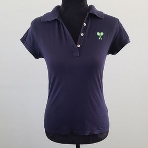 B2G1 VTG 00's Y2K Juicy Couture Tennis Racket Polo